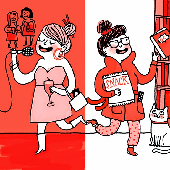 Image: Gemma Correll for Cup of Jo