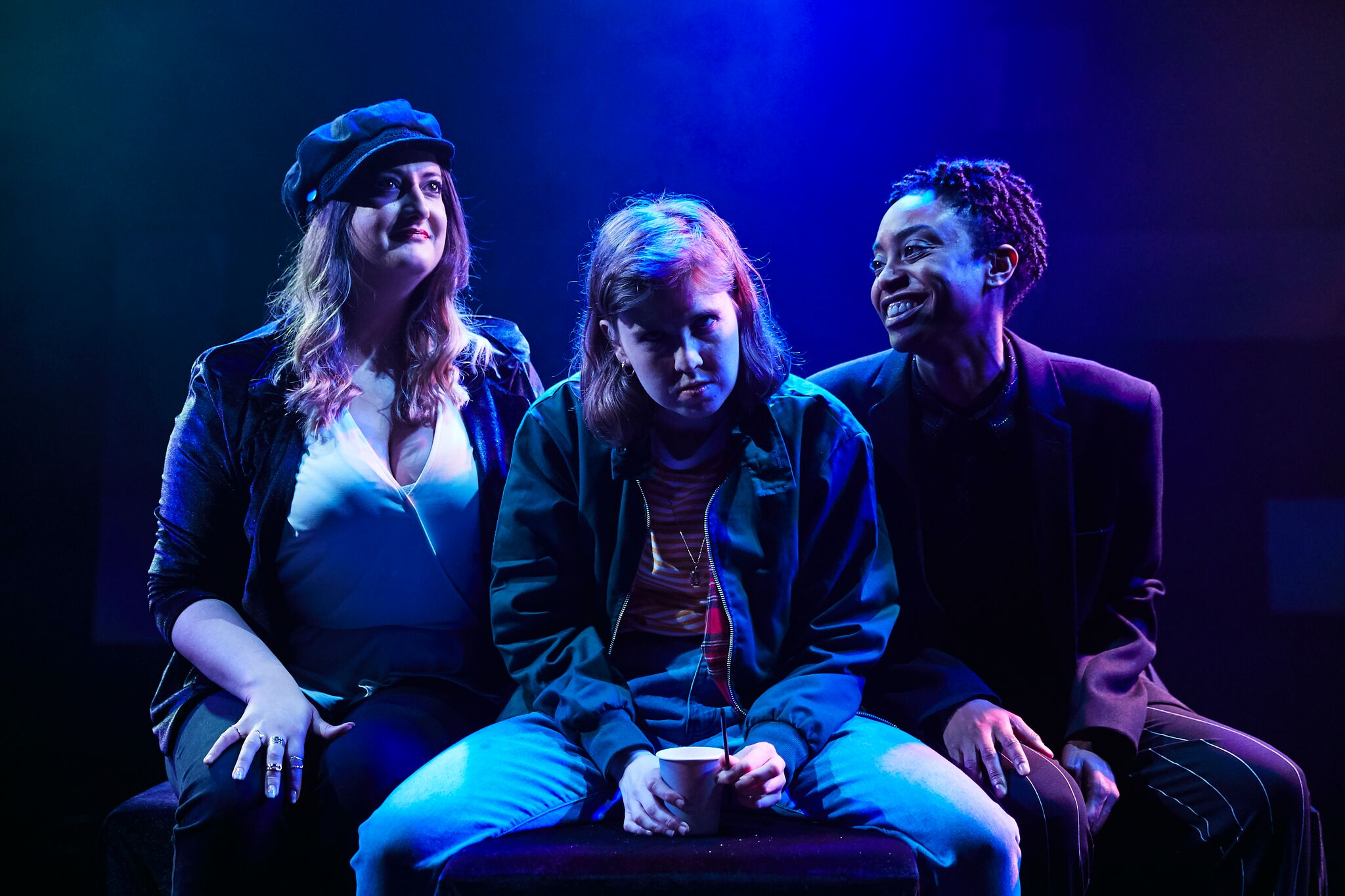 Grotty, The Bunker - Courtesy of The Other Richard (4) Rebekah Hinds, Izzy Tennyson and Anita-Joy UwaJeh_preview (1)