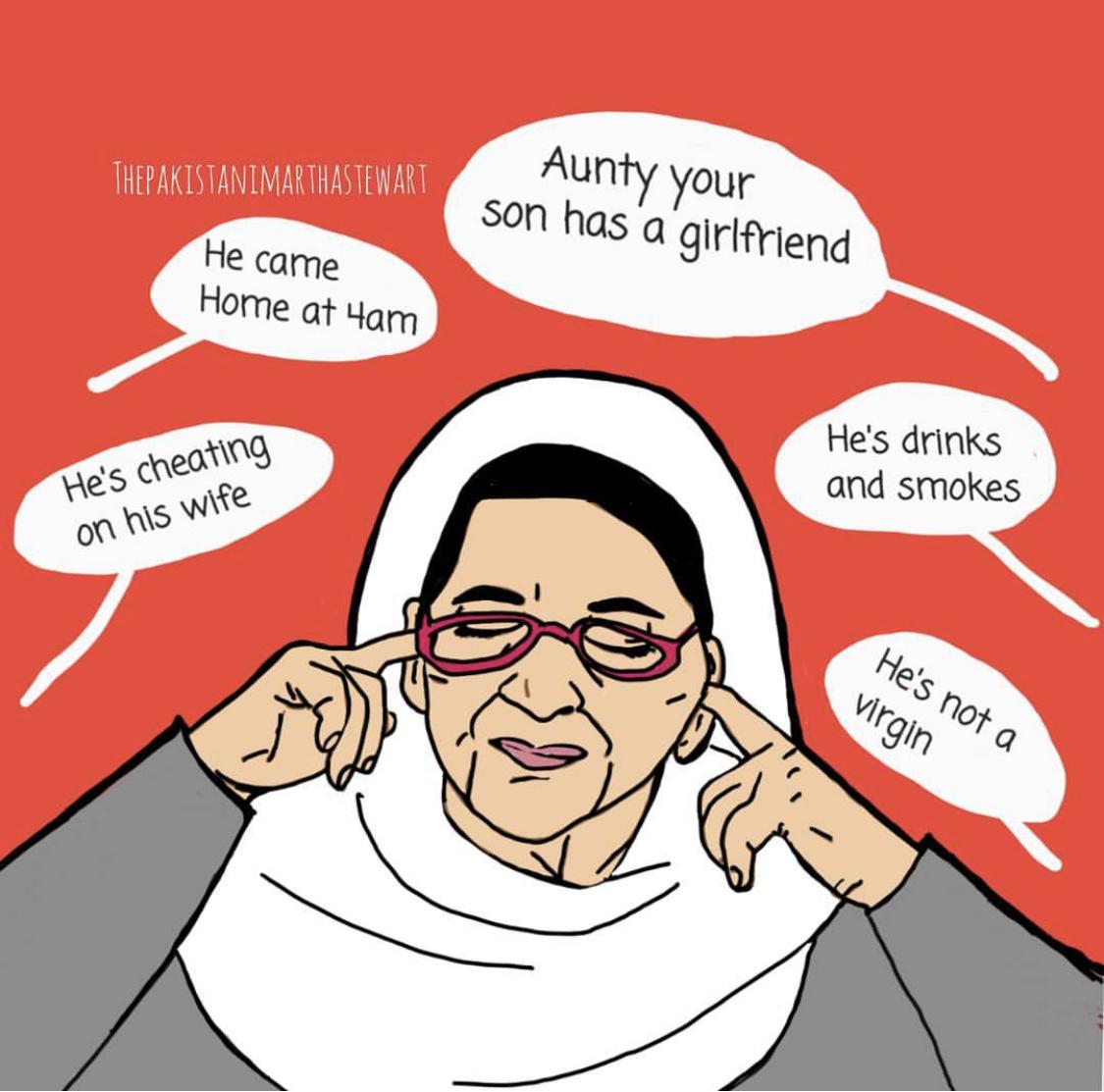 double standard (@thepakistanimarthastewart)